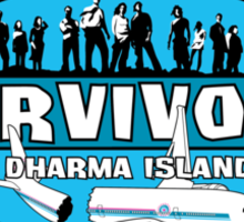 Survivors 815 Sticker