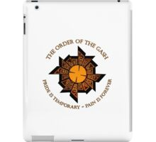 Pride is temporary.  Pain is forever. iPad Case/Skin
