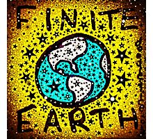 Finite Earth Remix Photographic Print