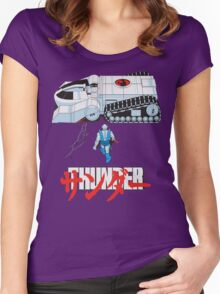 THUNDER Women's Fitted Scoop T-Shirt