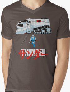 THUNDER Mens V-Neck T-Shirt