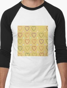 Marshmallows Men's Baseball ¾ T-Shirt