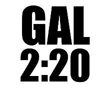 Gal 2:20 Photographic Print