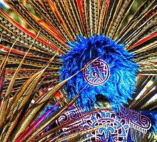 Aztec headdresses, Powwow, Hardeville, South Carolina by fauselr