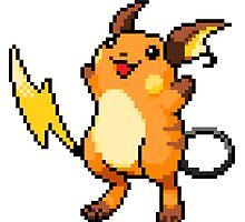 Pokemon - Raichu Sprite by ffiorentini