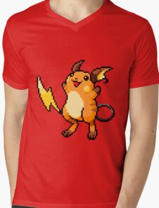 Pokemon - Raichu Sprite Mens V-Neck T-Shirt