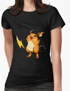 Pokemon - Raichu Sprite Womens Fitted T-Shirt