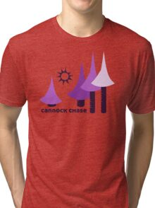 Wyld Cannock Chase t-shirt (in thistle) Tri-blend T-Shirt