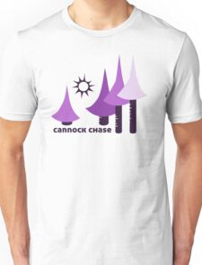 Wyld Cannock Chase t-shirt (in thistle) Unisex T-Shirt