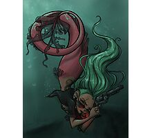 Gunmetal Mermaid Photographic Print