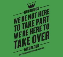 Conor McGregor - Quotes [TAKE PART] by TypeTees