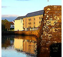 An Irish Quay Photographic Print