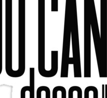 ''#trust me you can dance'' - vodka Sticker