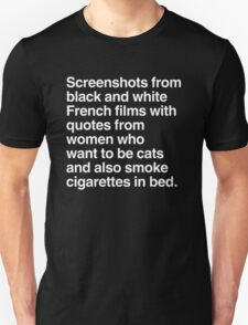 Screenshots and Quotes T-Shirt