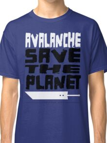 AVALANCHE! Save the Planet! Classic T-Shirt