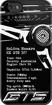 Holden Monaro HK GTS 327 (specifications) by blulime