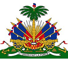 Coat of Arms of Haiti  Photographic Print