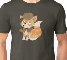 Cute Sherlock Holmes Kitten Unisex T-Shirt