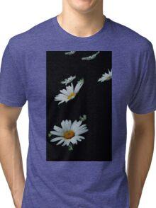 Falling Daisies Tri-blend T-Shirt