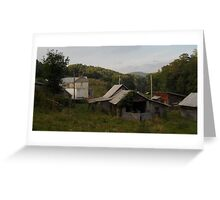 Farmstead From Behind Greeting Card