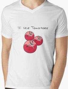 Vegetables tomatoes nature garden Mens V-Neck T-Shirt