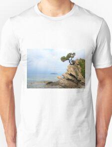 pine tree on a rock T-Shirt
