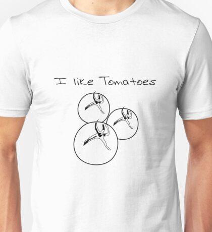 Vegetables tomatoes nature garden Unisex T-Shirt