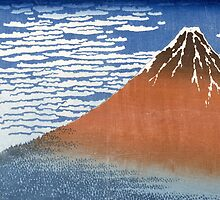 Fuji, Mountains in clear Weather by Bridgeman Art Library