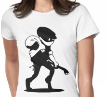 Burglar Womens Fitted T-Shirt