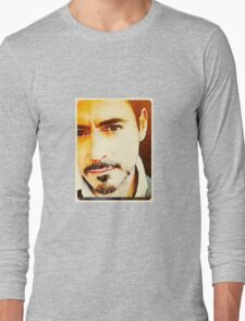 RDJ in Sepia  Long Sleeve T-Shirt