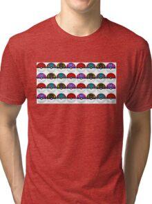 Pokeball Palooza Tri-blend T-Shirt
