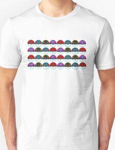 Pokeball Palooza Unisex T-Shirt