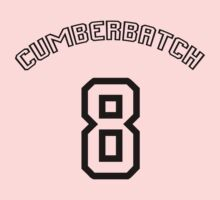 Cumberbatch 8 /black text/ One Piece - Short Sleeve