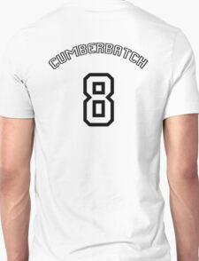 Cumberbatch 8 /black text/ Unisex T-Shirt