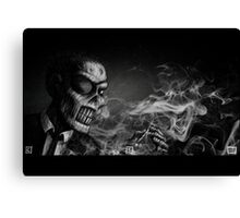 Dead - Coffin Nail Canvas Print