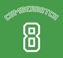Cumberbatch 8 /white text/ Kids Clothes