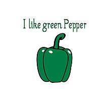 Vegetables peppers nature garden Photographic Print