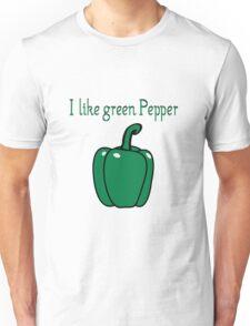 Vegetables peppers nature garden Unisex T-Shirt