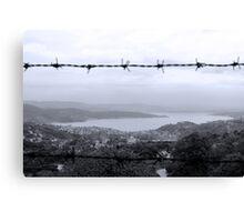View between lines Canvas Print