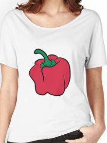 Vegetables peppers organic garden Women's Relaxed Fit T-Shirt