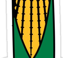 Vegetables corn organic garden Sticker