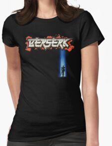 Berserk Logo w Guts fade Womens Fitted T-Shirt