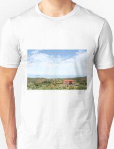 old house Sithonia Halkidiki Greece landscape Unisex T-Shirt