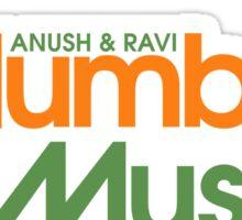 Master of None - Mumbai Muscle Sticker