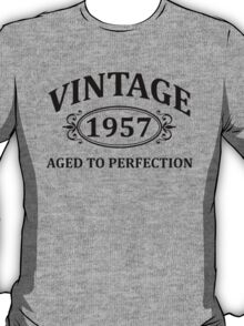 Vintage 1957 Aged to Perfection T-Shirt