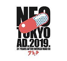 Neo-Tokyo (2.1) Photographic Print