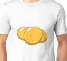 Vegetables potatoes nature garden Unisex T-Shirt