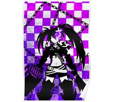 Insane Black Rock Shooter Poster