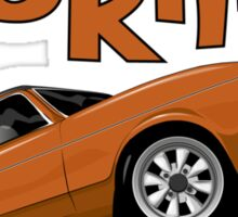 Ford Cortina Mk3 Sticker
