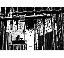 AA162 Locked And Barred  Photographic Print